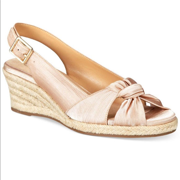 d43c6848657 Bella Vita Seraphina II Sandals in Natural Silk NWT